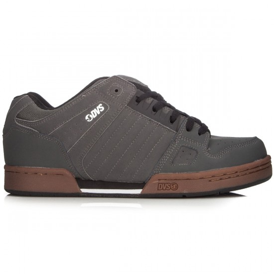 DVS Celsius Shoes - Grey/Gum Trubuck - 8.0