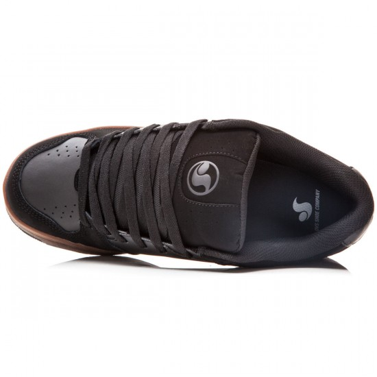 DVS Discord Shoes - Black/Gum/Nubuck - 8.0