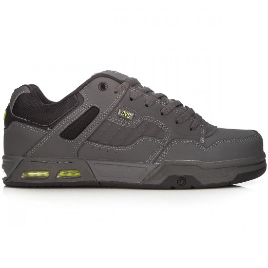 DVS Enduro Heir Shoes - Grey/Lime/Black Trubuck - 8.0
