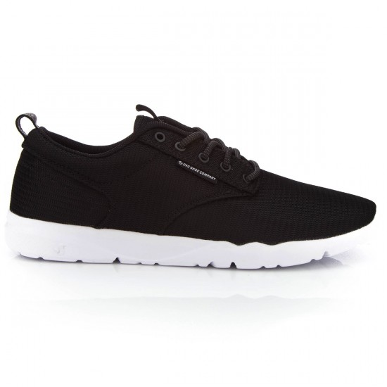 DVS Premier 2.0 Shoes - Black/White/Mesh - 10.0