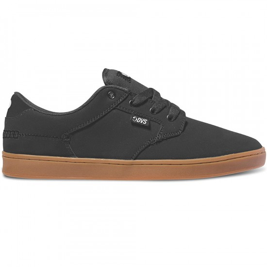 DVS Quentin Shoes - Black/Nubuck - 10.0