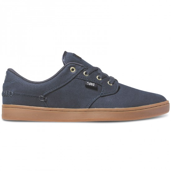DVS Quentin Shoes - Navy Canvas - 8.0