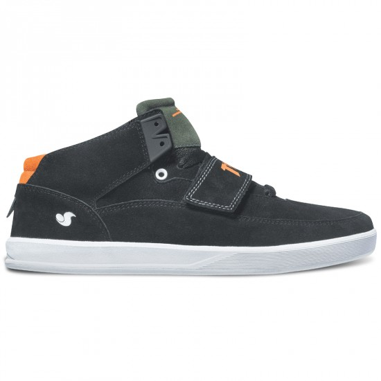 DVS Torey 3 Shoes - Black Thasher Suede - 8.0