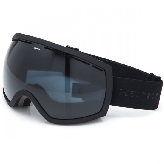 Electric EG2 Snowboard Goggles - Matte Black with Jet Black