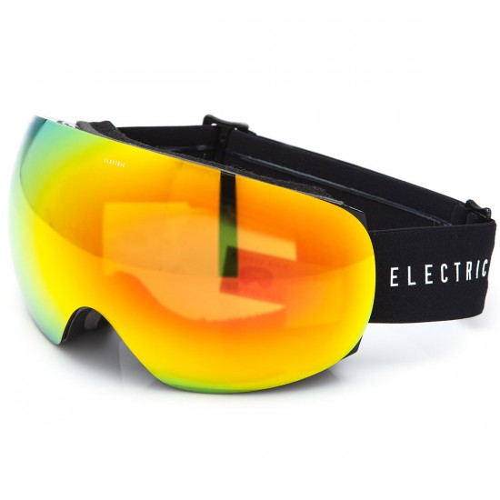 Electric EG3 Snowboard Goggles - Gloss Black with Bronze/Red Chrome