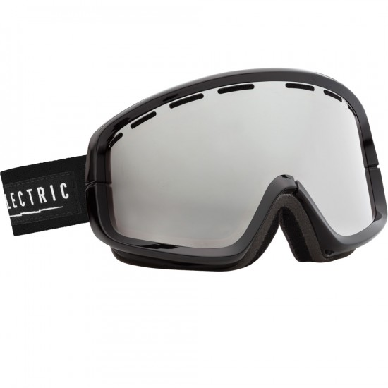 Electric EGB2 Gloss Black Snowboard Goggles 2015 - Bronze/Silver Chrome
