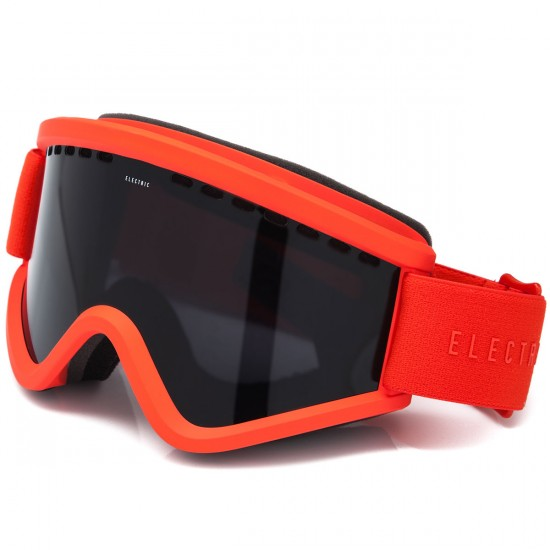 Electric EGV Snowboard Goggles - Solid Orange with Jet Black