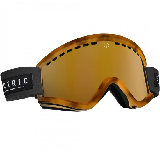 Electric EGV Tort Snowboard Goggles 2015 - Bronze / Bronze Chrome