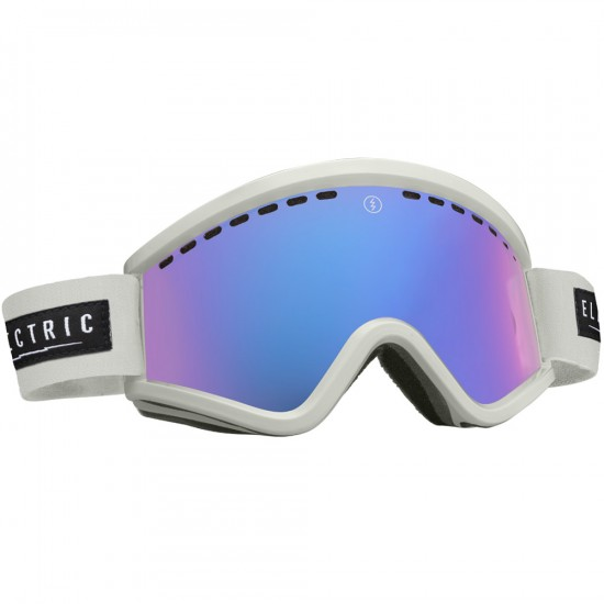 Electric EGV White Tropic Snowboard Goggles 2015 - Rose/Blue Chrome
