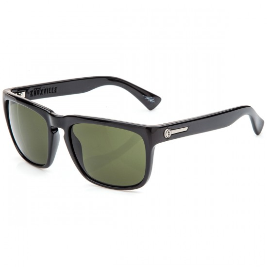 Electric Knoxville Sunglasses - Gloss Black with Melanin Grey
