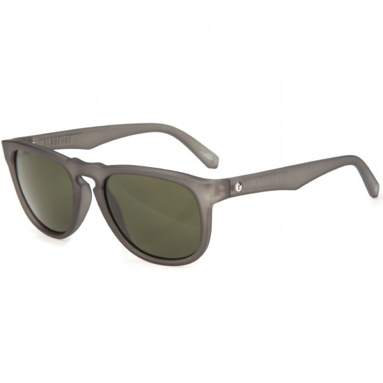 Electric Lead Foot Sunglasses - Matte Smoke/Melanin Grey