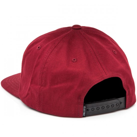 Electric New Uniform Hat - Burgundy