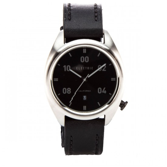 Electric OW01 Leather Watch - All Black