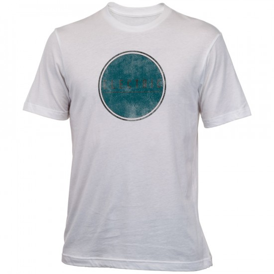 Electric Pop Out T-Shirt - White