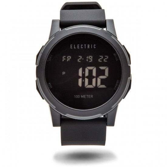 Electric Prime Silicone Watch - All Black