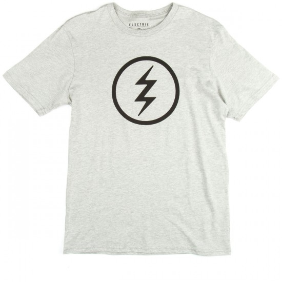 Electric Volt T-Shirt - Heather Grey
