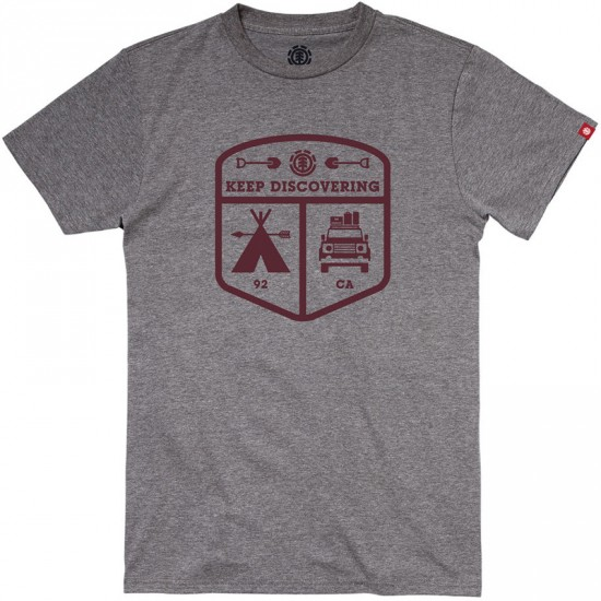 Element Adventurer T-Shirt - Grey Heather