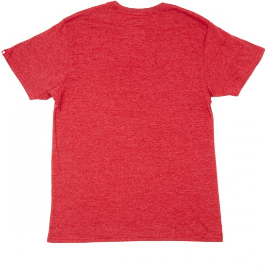 Element Brand T-Shirt - Red Heather
