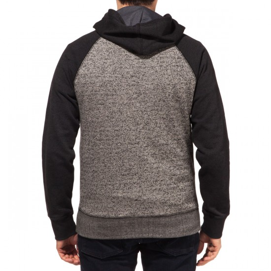 Element Cornell Fleece Full Zip Hoodie - Grey Heather