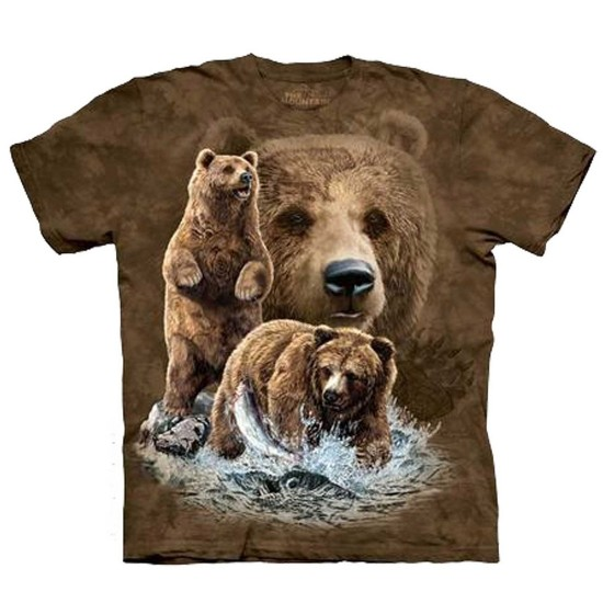 Element Find 10 Brown Bears T-Shirt - Brown