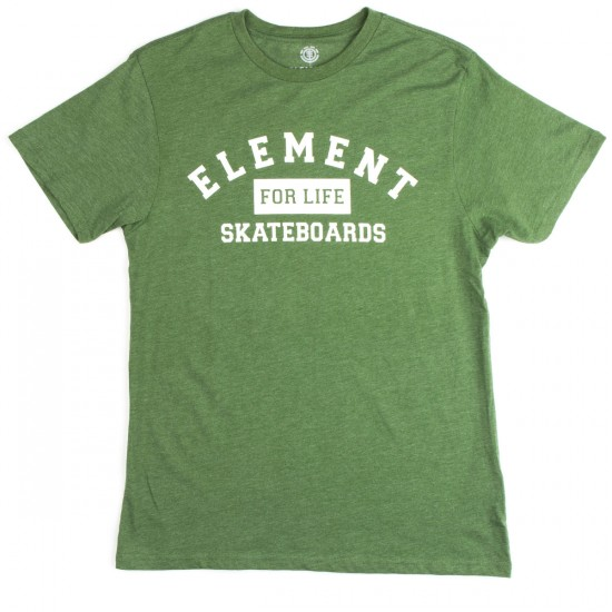 Element For Life T-Shirt - Fern Heather