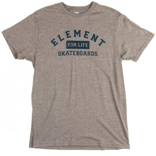 Element For Life T-Shirt - Grey Heather