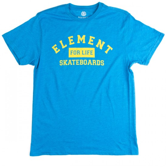 Element For Life T-Shirt - Lake Heather