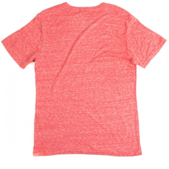 Element Fundamental Crew T-Shirt - Red Heather