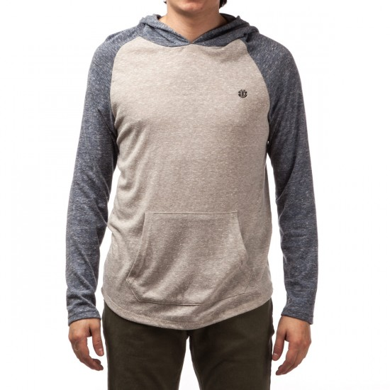Element Fundamental Pullover Hoodie - Midnight Blue Heather