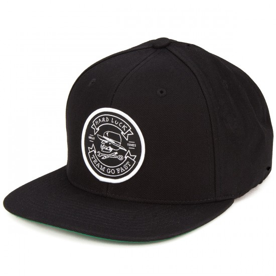 Hard Luck Great Times Hat - Black