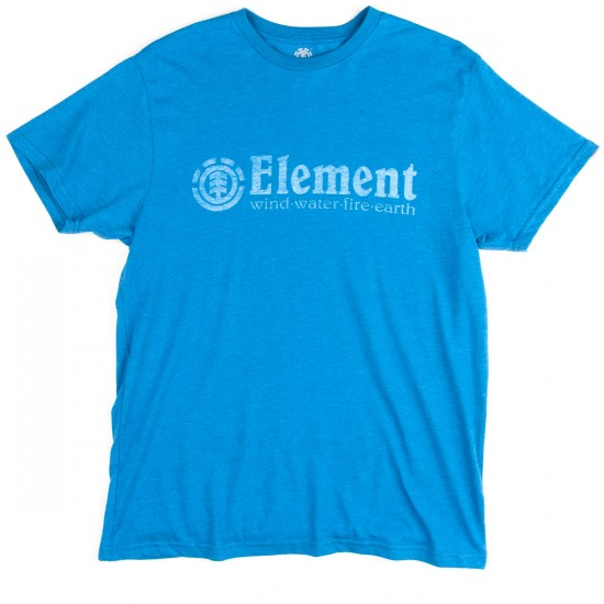 Element Horizontal Push T-Shirt - Lake Heather
