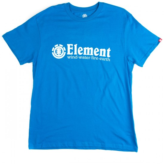 Element Horizontal T-Shirt - Lake Blue