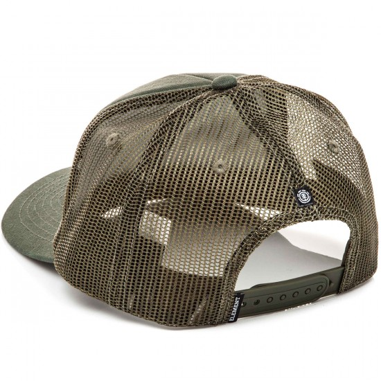 Element Icon Mesh Hat - Moss Green