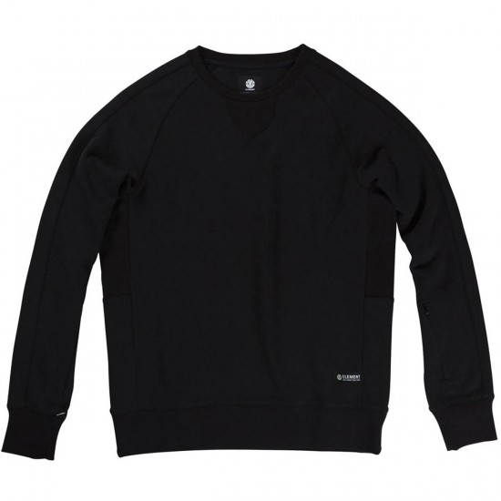 Element Langley Crew Sweatshirt - Black