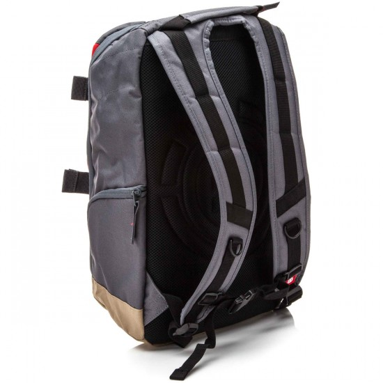 Element Mohave Backpack - Stone Grey Fire Red