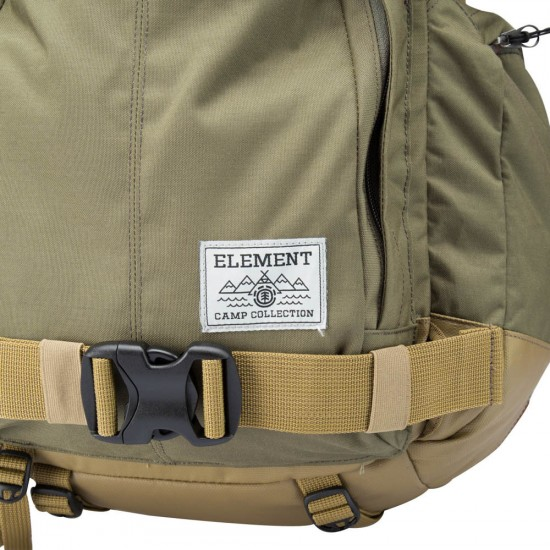 Element The Explorer Backpack - Green Moss Canyon Khaki