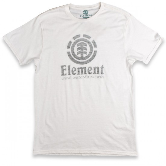 Element Vertical Push T-Shirt - White Heather