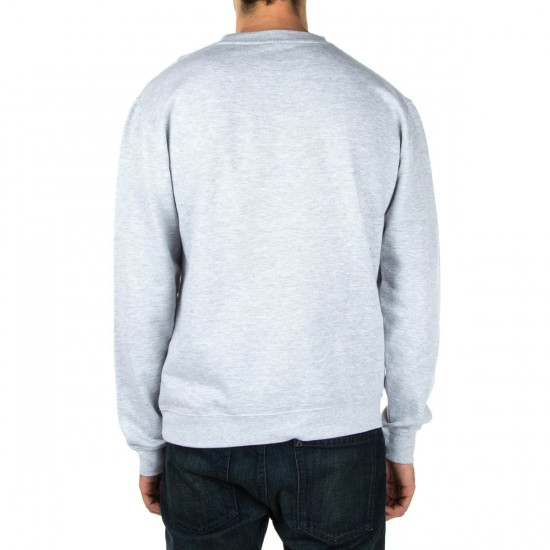 Emerica Community College Crewneck Sweatshirt - Grey