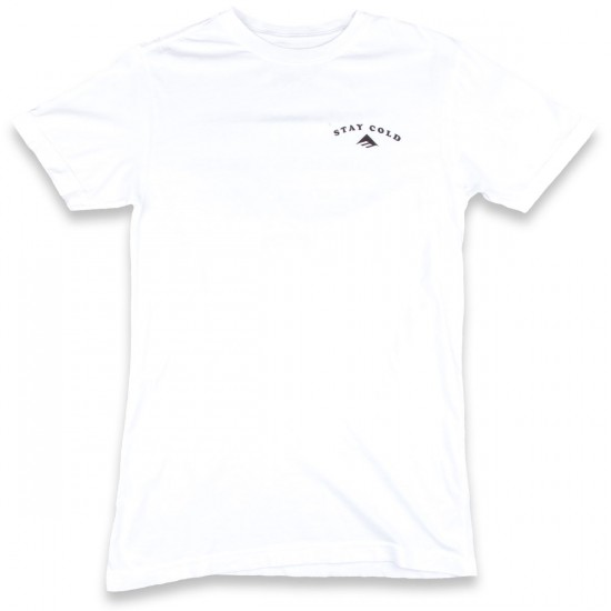 Emerica Drink Beer And Skate T-Shirt - White