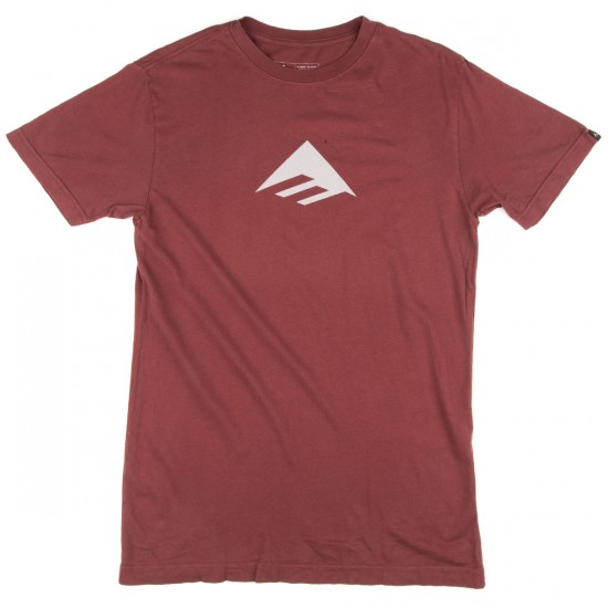 Emerica Emerica Triangle 7.1 T-Shirt - Maroon
