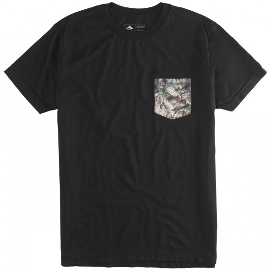 Emerica Herbal Camo T-Shirt - Black