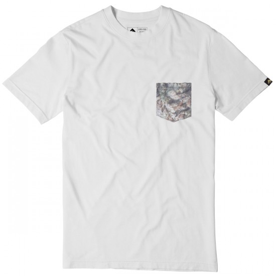 Emerica Herbal Camo T-Shirt - White
