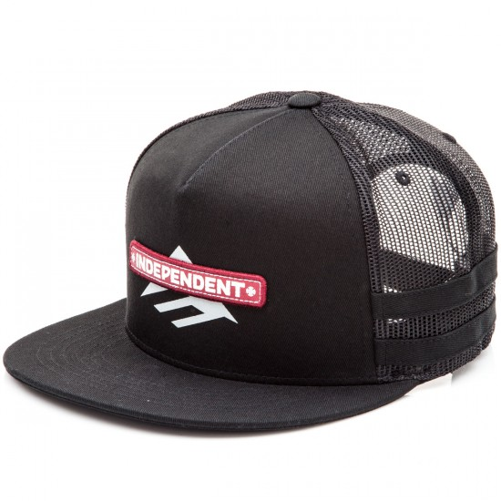 Emerica Indy Trucker Hat - Black