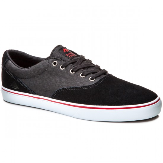 Emerica Provost Slim Vulc Shoes - Black/Denim - 10.0