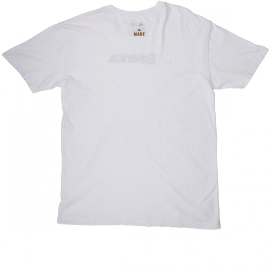 Emerica Pure Emerica 12.1 T-Shirt - White/Gold