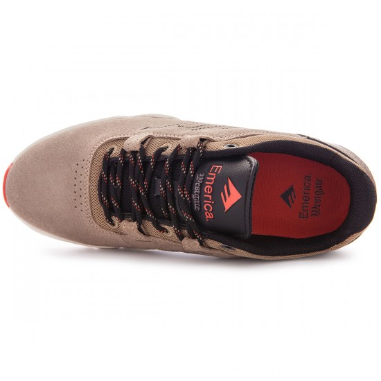 Emerica The Brandon Westgate Shoes - Khaki - 8.0
