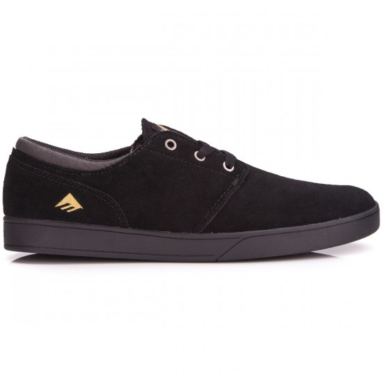 Emerica The Figueroa Shoes - Black/Black - 6.0