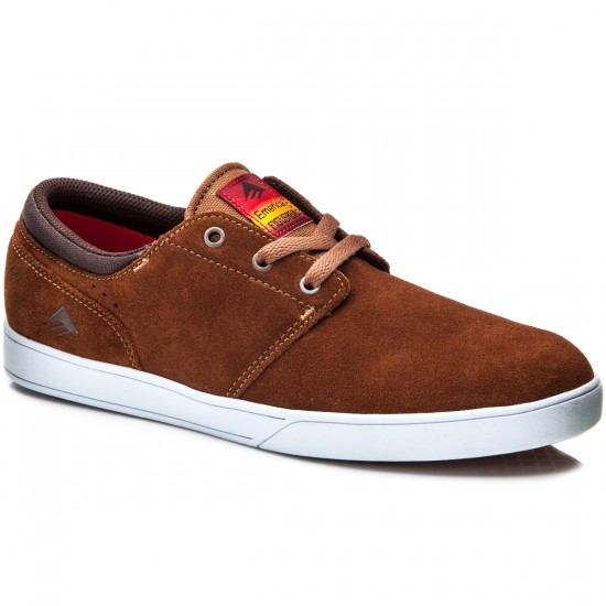 Emerica The Figueroa Shoes - Brown/White - 8.0