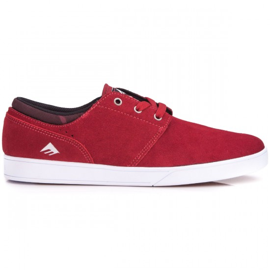 Emerica The Figueroa Shoes - Burgundy/White - 6.0