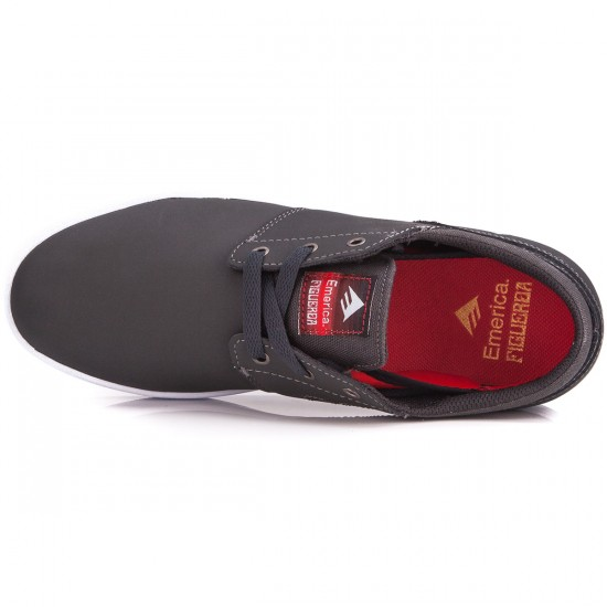 Emerica The Figueroa Shoes - Grey/Black - 6.0